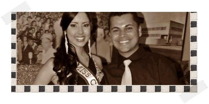 Com a Miss Mundo Pernambuco 2014: Andresa Alves