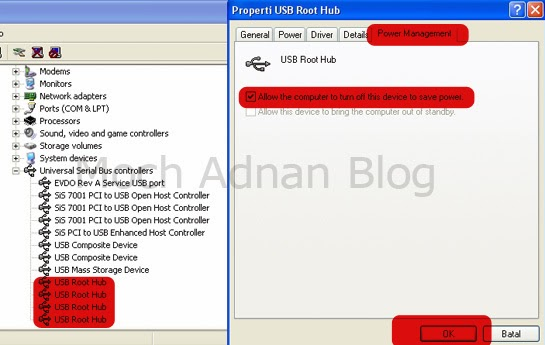 Kerusakan USB Device Not Recognized