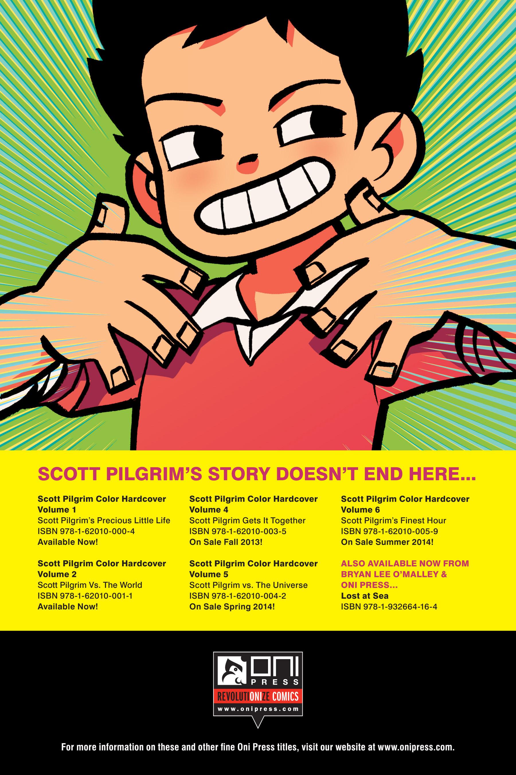 Read online Scott Pilgrim comic -  Issue #3 - 226