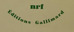 La collection NRF chez Gallimard