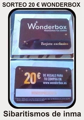 Sorteo 20€ wonderbox