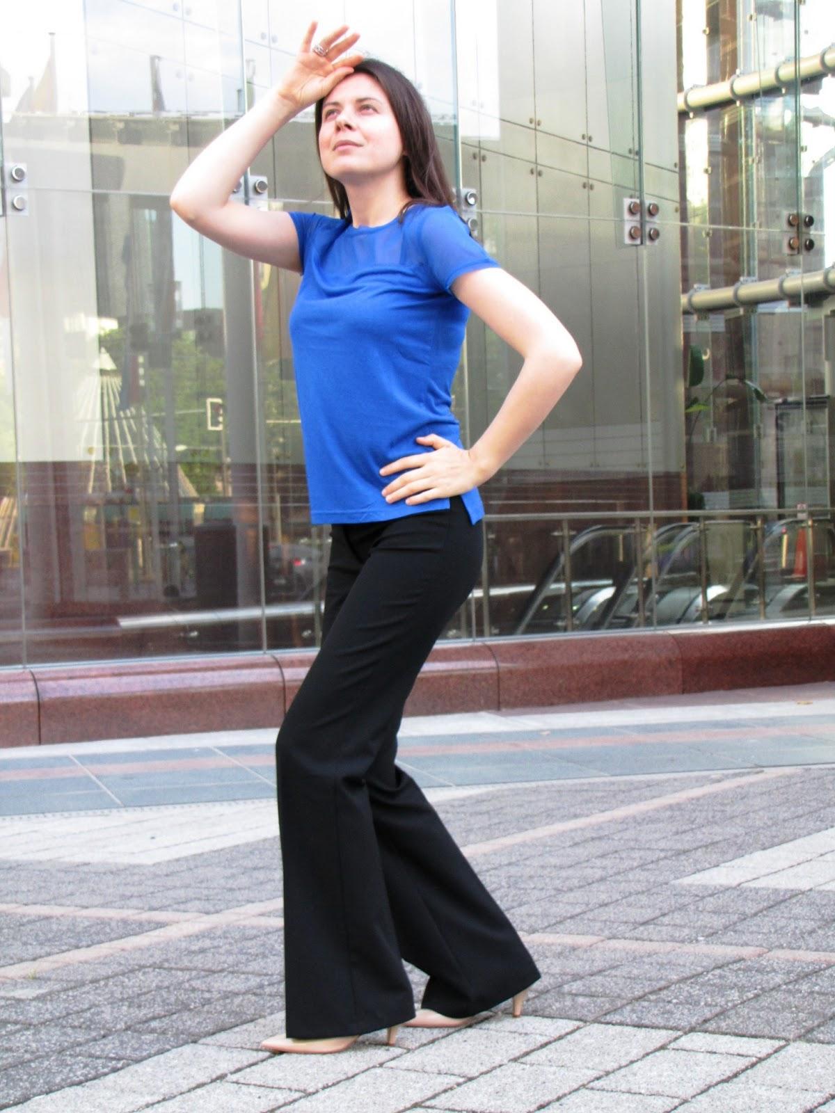 H&H Bluse, Pants Benetton
