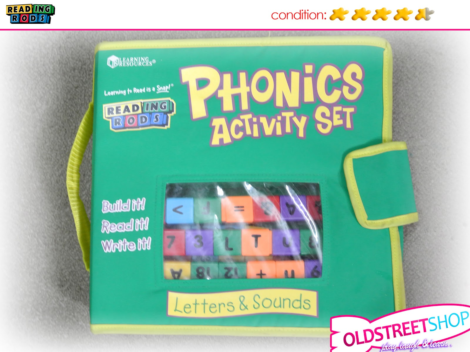 Phonic Sounds Activities Reading Rods Phonics Activity
