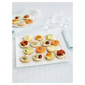 Flor de lisboa comida para festas for Waitrose canape selection