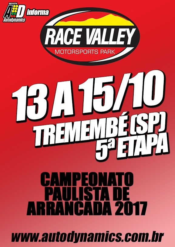 Race Valley (5ª Etapa 2017) !!!