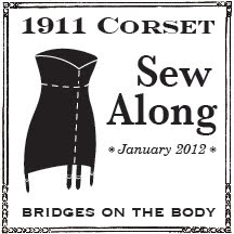 1911 Corset Sew Along