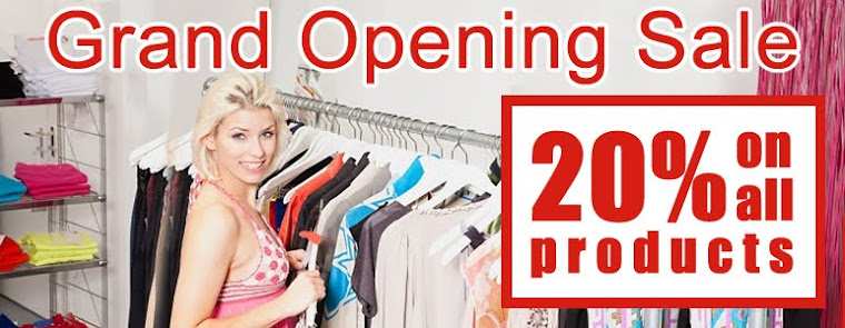 Grand Opening Sale Offer