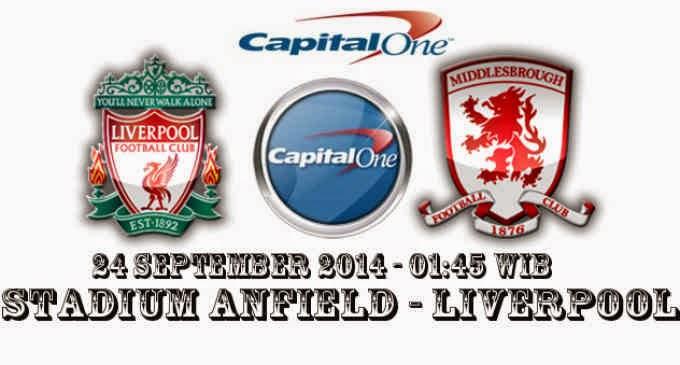 Life And Insurance :Prediksi Laga Capital One Cup, The Reds Bertekat Bangkit Saat Melawan Middlesbrough