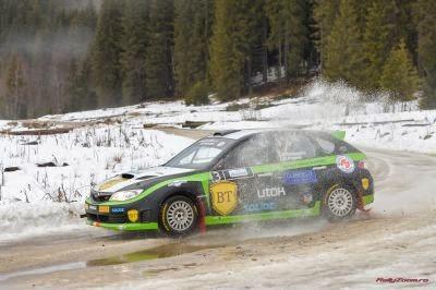 Simone Tempestini - Subaru Impreza - Covasna Winter Rally