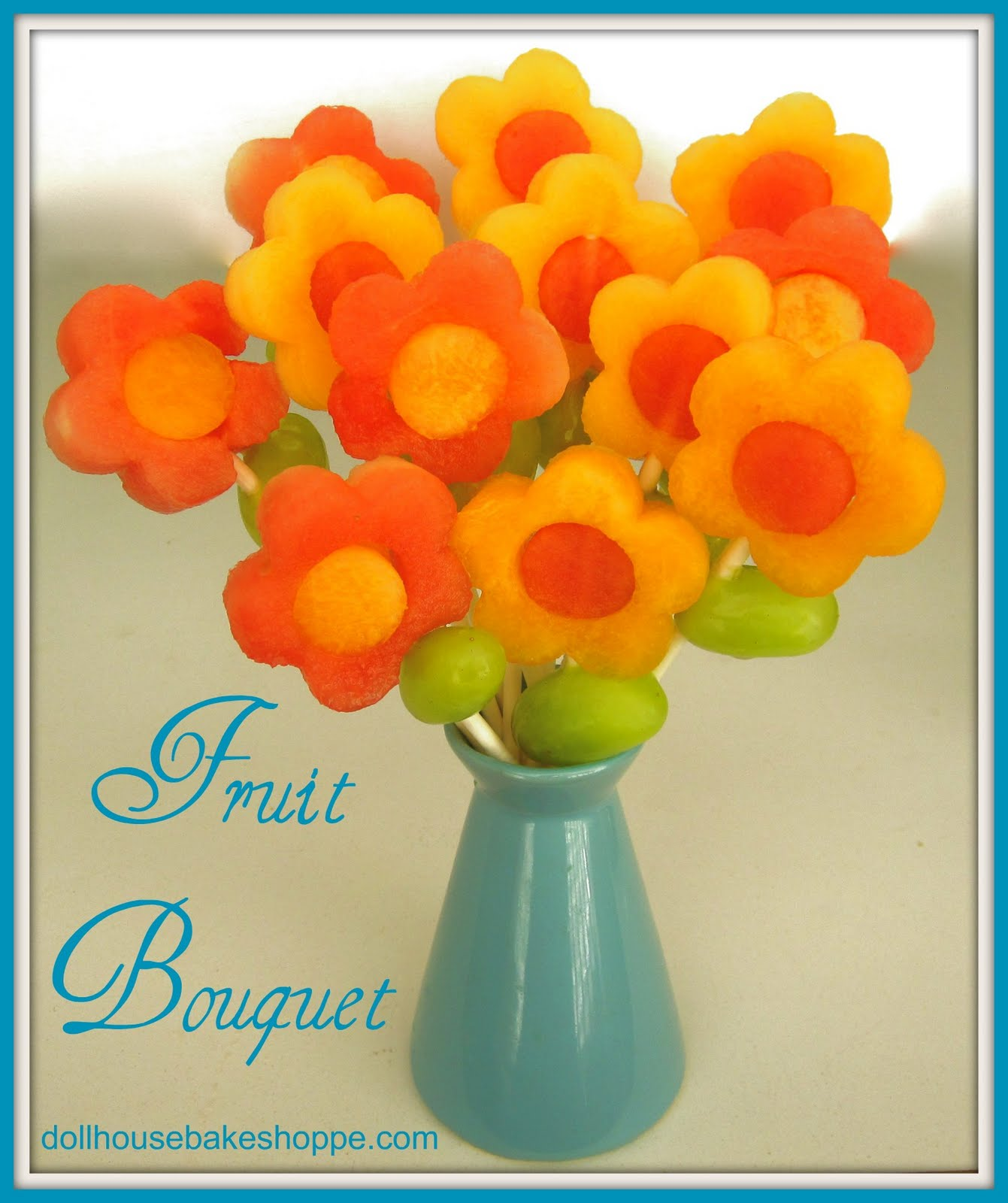 Lindsay ann bakes flower fruit pops Fruit bouquet