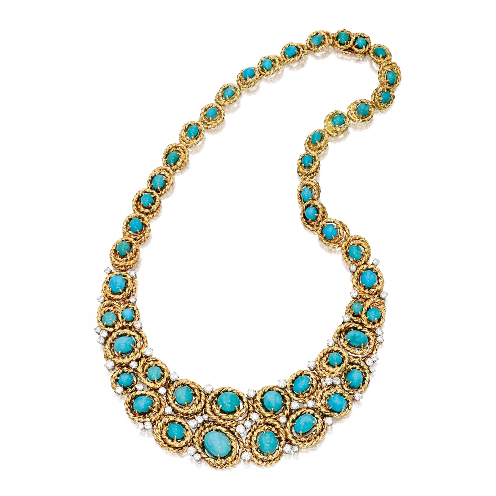 poutine s jewels royals turquoise necklaces