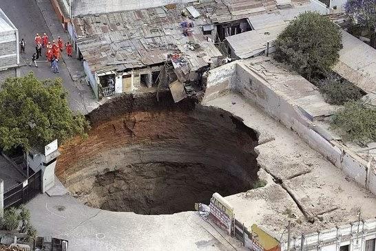 Guatemala skin hole. Guatemala