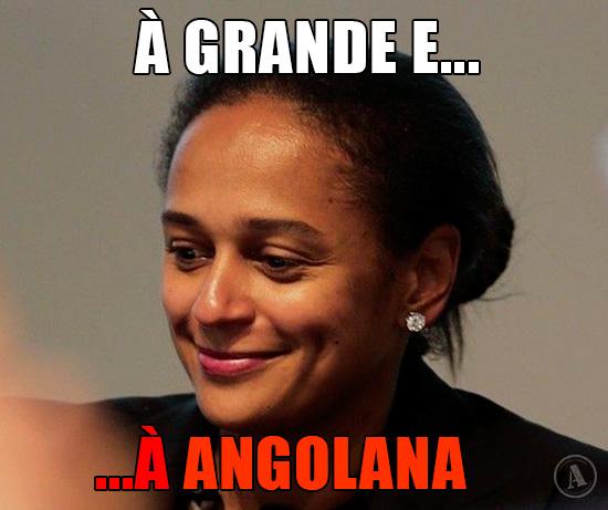 Isabel dos Santos – À grande e à angolana