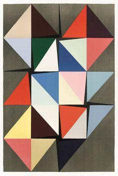 kunst til væggen i form af litografi af Malene Landgreen