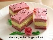 Ružové rezy - recept