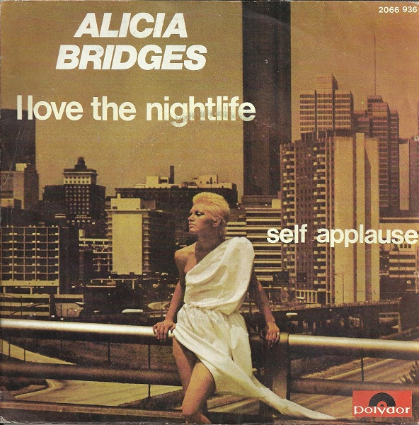 Alicia Bridges – I Love The Nightlife (Disco 'Round) 3 Versiones