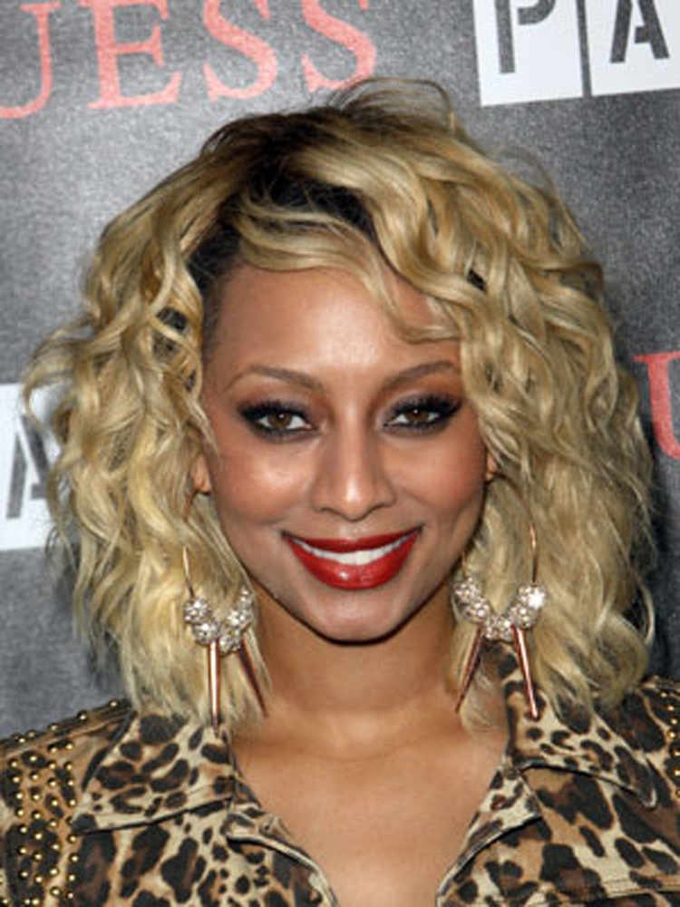 Stylish Medium Hairstyles Keri Hilson Popular