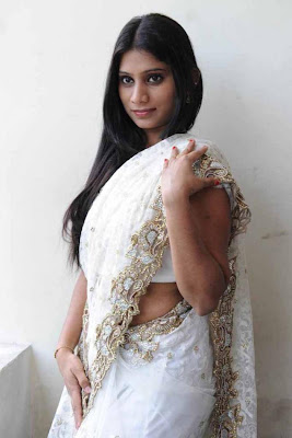 midhuna in saree photo gallery