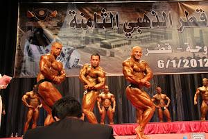 Tongkat Ali Nu-Prep 100, Bersama Mr Universe 7 Kali Sazali Abdul Samad ' Qatar Open 2012 '