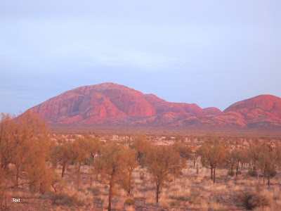 dawn at Kata Tjuta