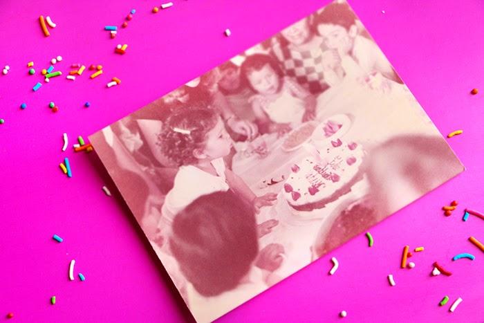 Pastel Especial de Vainilla y Confeti