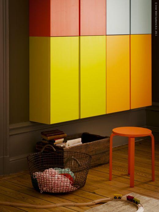 Aparador De Pelos Feminino ~ Ikea Hack Armarios Ivar de colores para salón o espacio infantil x4duros com