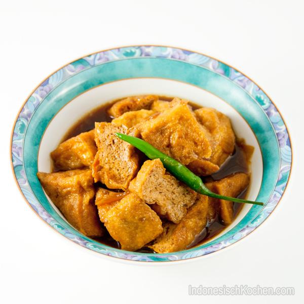 Tofu mit kecap manis indonesischkochen