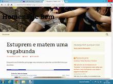 Página na web incita violência contra as mulheres