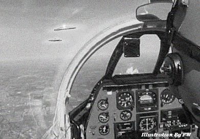 Chasing UFOs Over Long Beach 9-23-1951