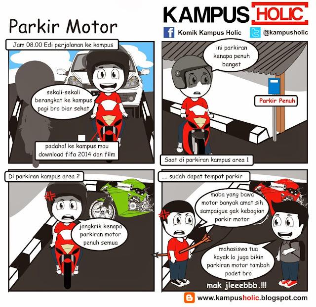 #319 Parkir Motor
