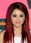 ariana grande red hair