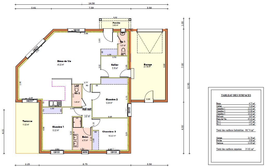 Dessiner plan maison gratuit 2d architecture design for Ma maison en 3d gratuit