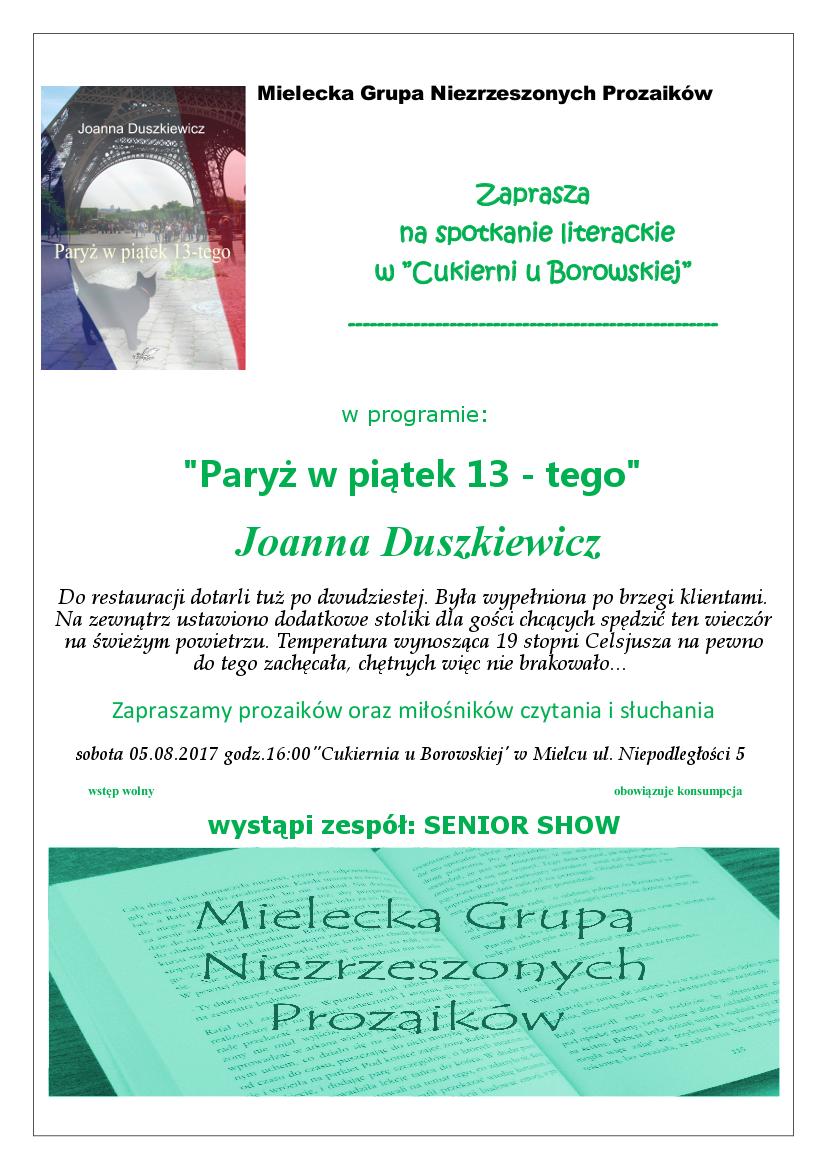 plakat z 5 spotkania
