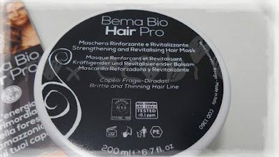 BEMA Bio Hair Pro  Maschera rinforzante e rivitalizzante