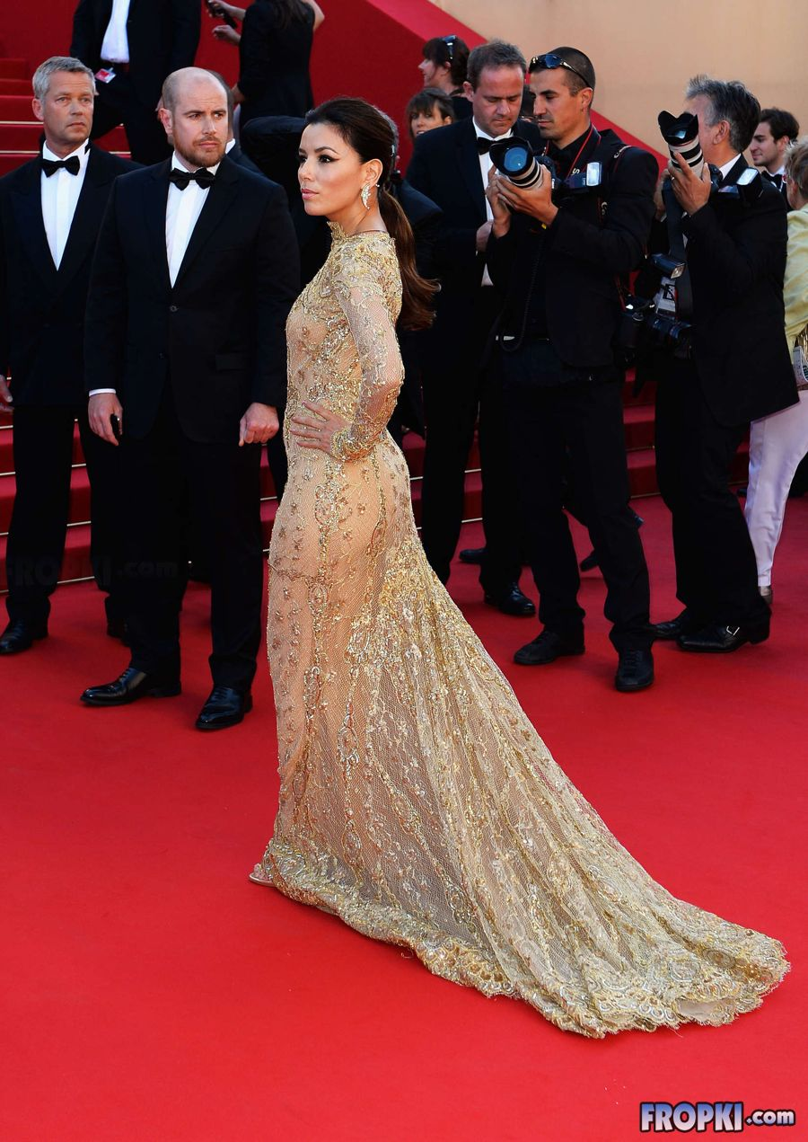 Eva Longoria at Cannes 2013 Premiere of