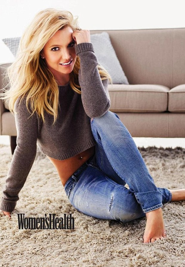 Britney Spears Women's Health 2014