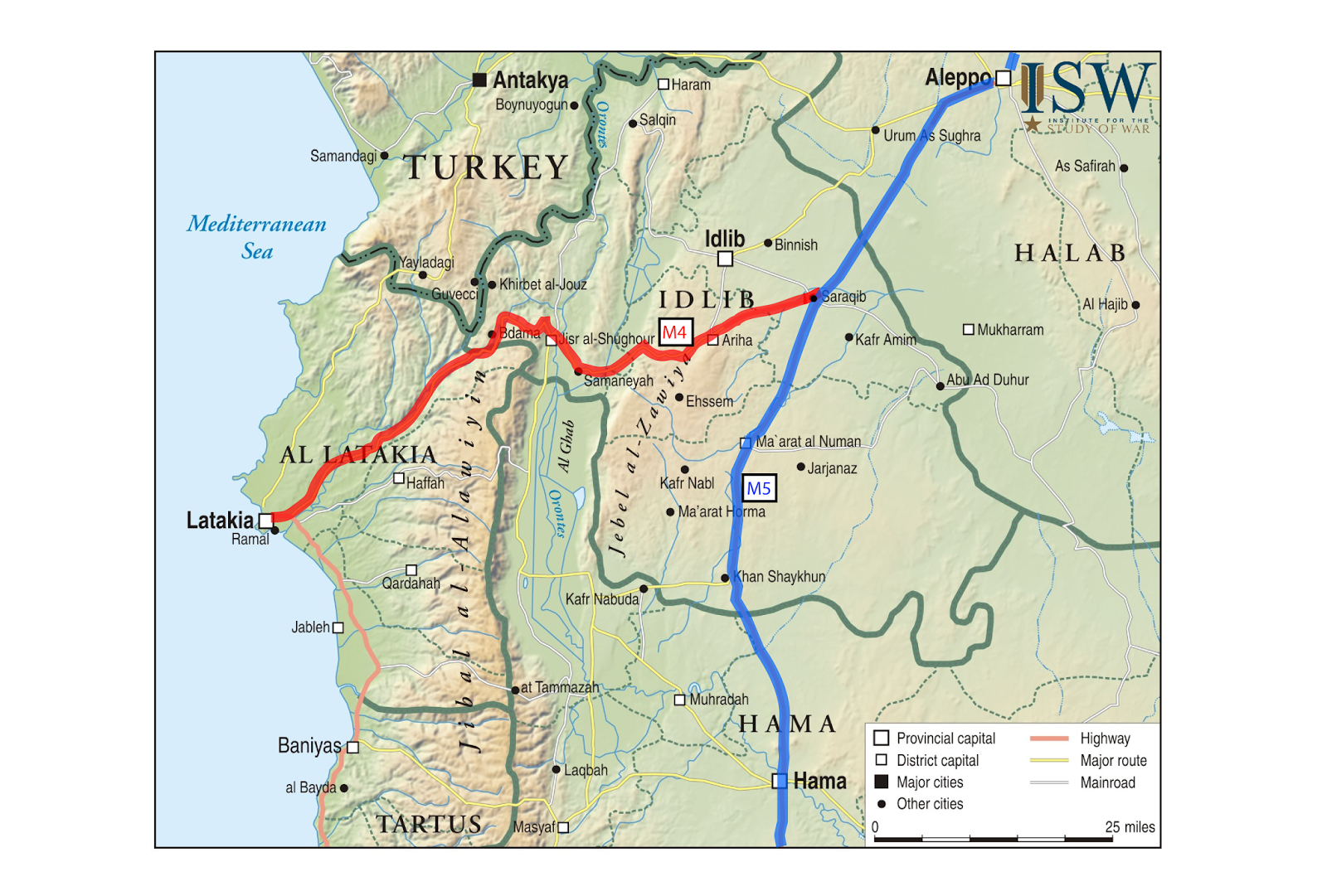 ISW Blog Rebel Operations in Idlib Province during the Spring of 2014