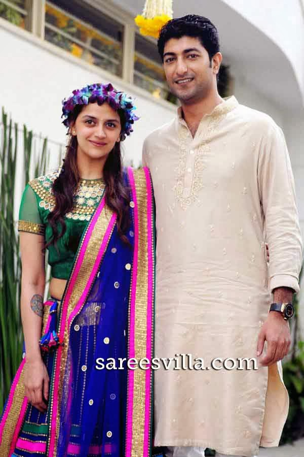 Ahana Deol with Fiance Vaibhav Vora