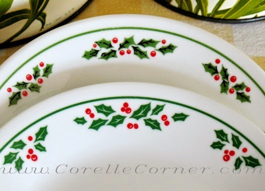 Happier Than A Pig In Mud: New Corelle Winter Holly Pattern