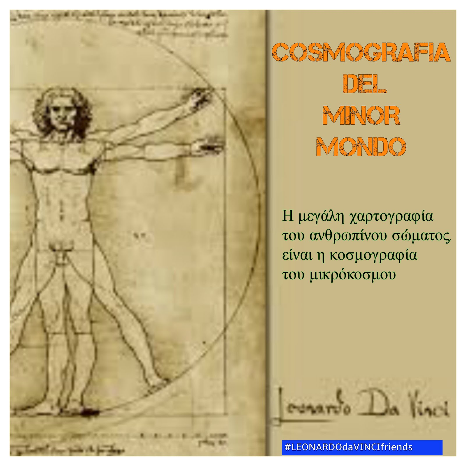 Cosmografia del Minor Mondo