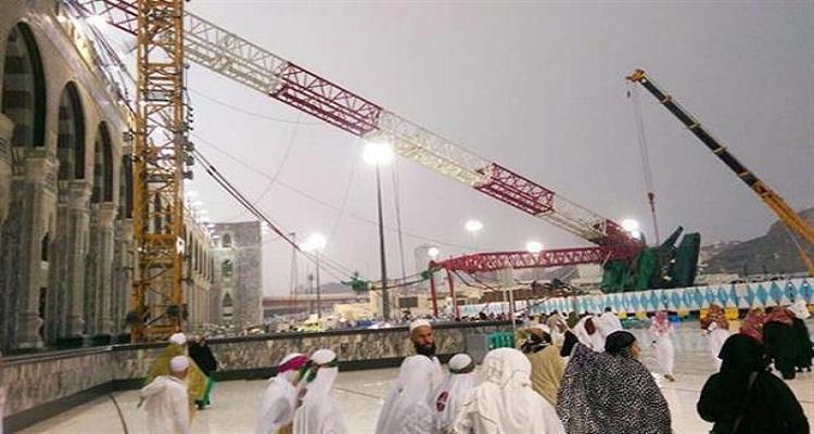 السعودية تكشف أخيرا عن المتهم الرئيسي في حادثة سقوط رافعة الحرم المكي