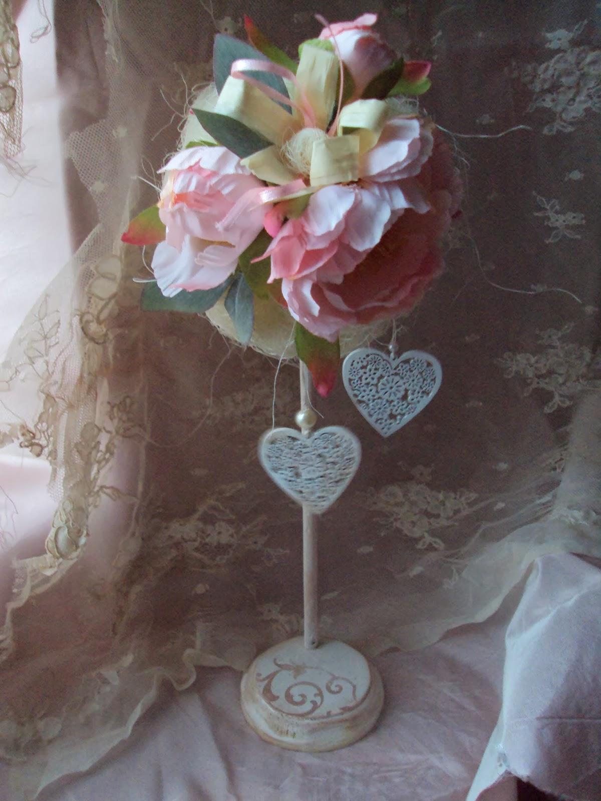 Как сделать своими руками свадебные топиарии 373