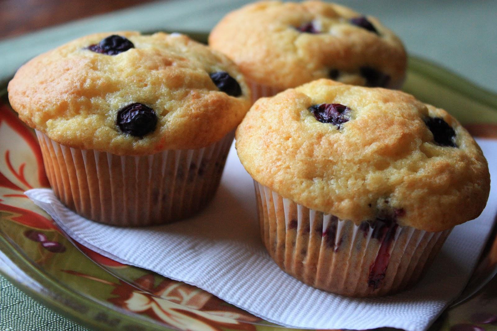 Blueberry cake mix muffin recipe