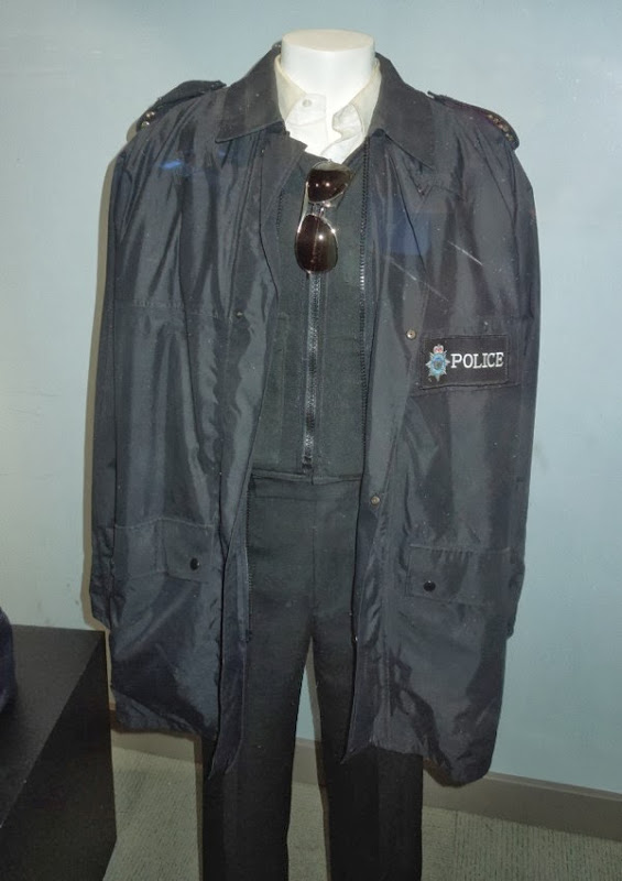 Simon Pegg Hot Fuzz British police uniform costume