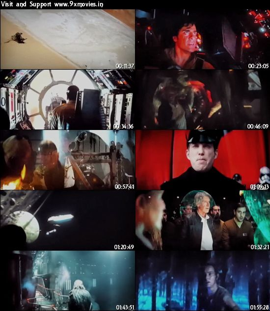 Star Wars The Force Awakens 2015 English 480p HDTS 350mb