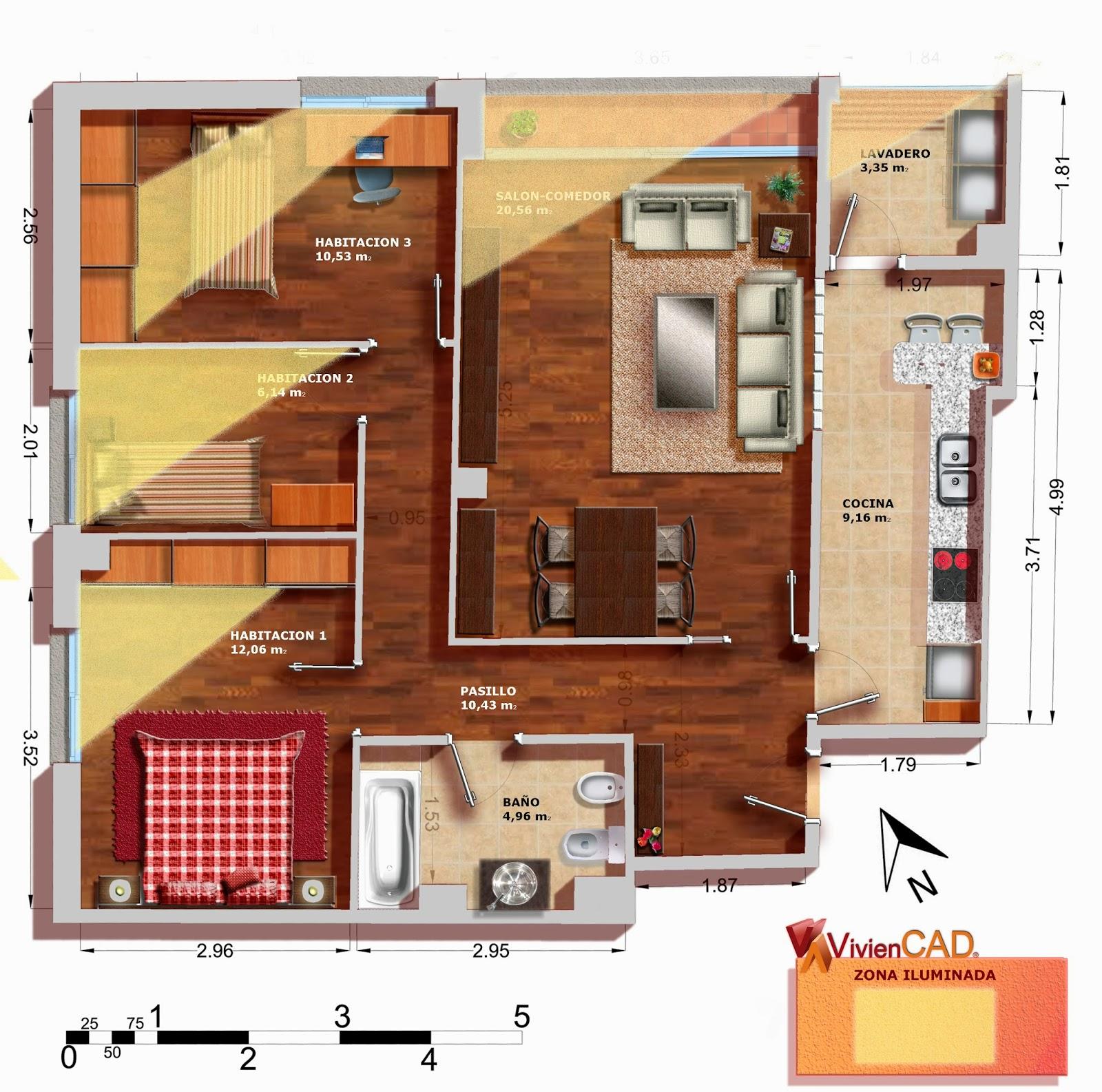 Iluminacion Natural Baños:El sistema más sencillo y económico de ventilación de la viviendas