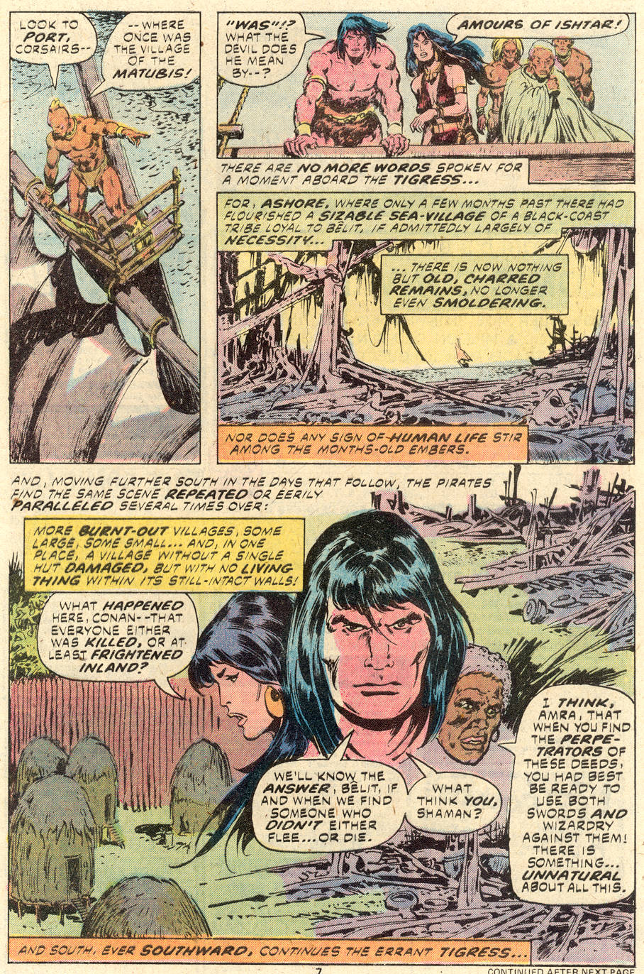 Conan the Barbarian (1970) Issue #94 #106 - English 6