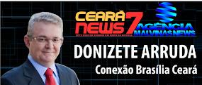 INTEGRAÇÃO COM Á NOTÍCIA CEARÁ NEWS 7 / MALVINAS NEWS NO AR