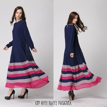 Restock jubah Color Block Kegemaran Ramai sangat Selesa Digayakan Dengan Rekaan Yang Menarik HAti