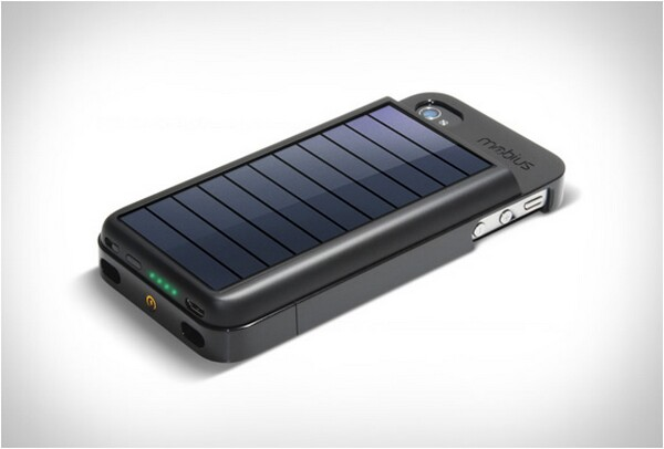 Solar Powered iPhone Charger Case